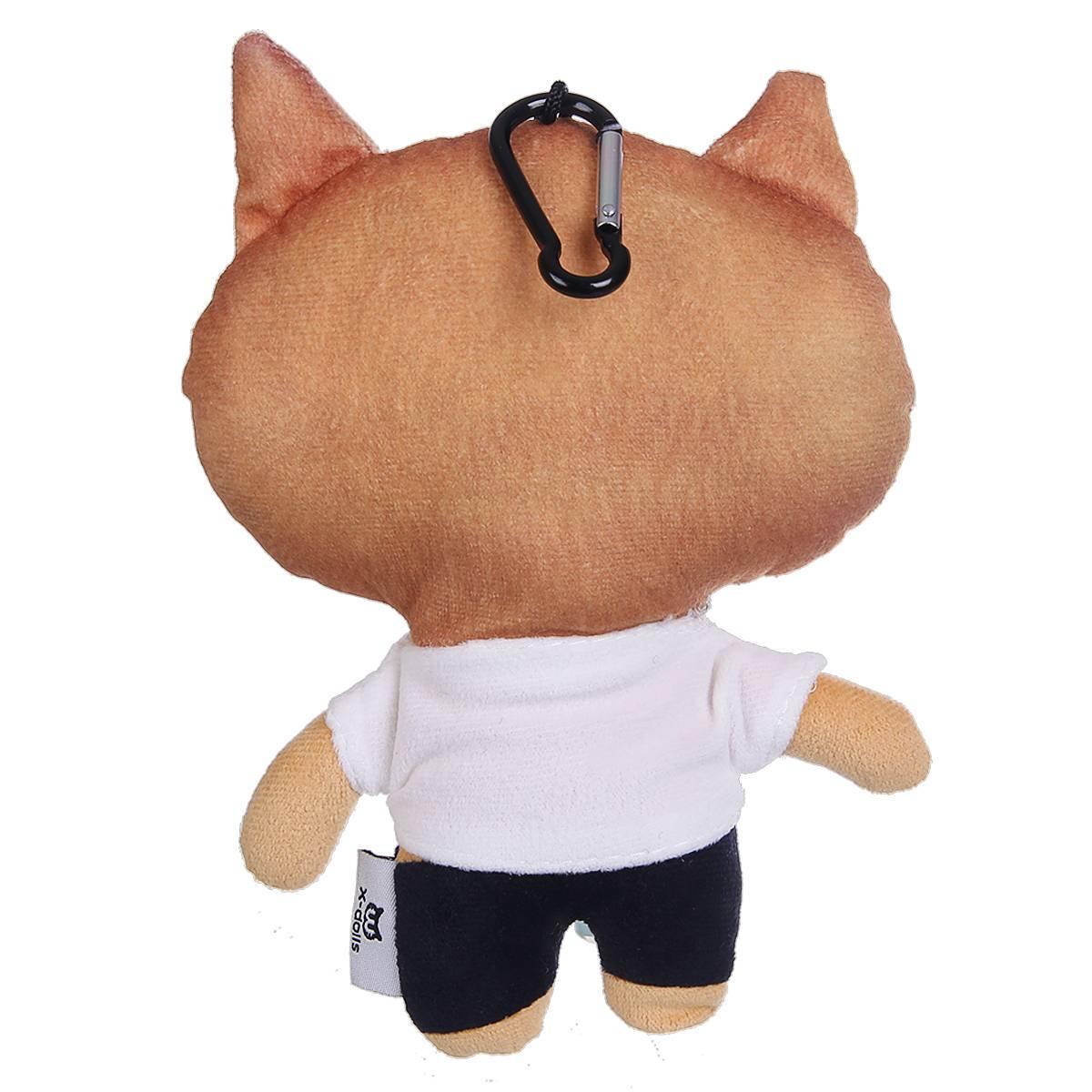 猫范 单身狗毛绒娃娃公仔 挂件